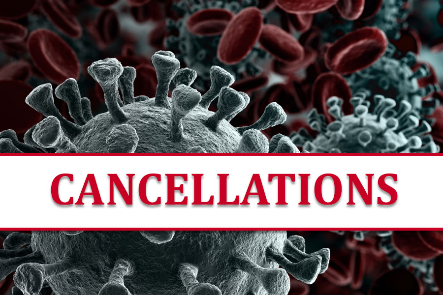 Cancellations due to COVID-19